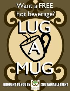Lug a Mug Poster